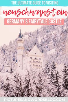 Winter is the best time to visit Neuschwanstein Castle! Read this guide to find out everything you need to know about taking a magical day trip from Munich to Neuschwanstein Castle, Germany's real-life fairytale. Backpacking Europe, Europe Travel Tips, European Travel, Travel Guides, Travel Destinations, Travel List, Travel Advice, Berlin, Germany Castles