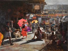 """""""Tabuan"""" the art of Orley Ypon Philippine Art, Classical Realism, Old Master, Art School, Impressionist, Line Art, Concept Art, Art Drawings, Contemporary Art"""