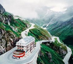 Furka Pass, Switzerland.