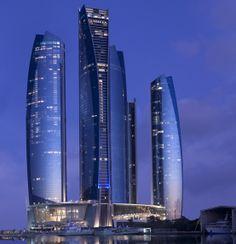 Etihad Tower, Abu Dhabi, UAE