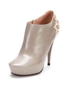 Platform Ankle Bootie  by Nina Ricci at Gilt