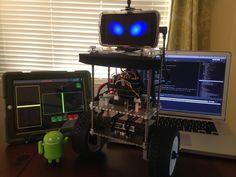 Balancing Android Robot (BAR) - OSC Control