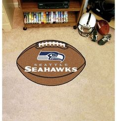 nfl seattle seahawks fanmats football rug