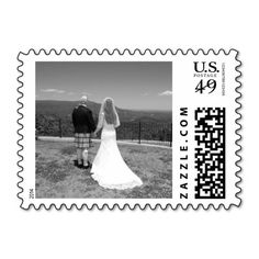 Personalized Add Your Wedding Or Keepsake Photo Postage Stamp