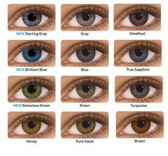 FreshLook ColorBlends Fashion Contact Lenses suitable for bright yet natural iris colors