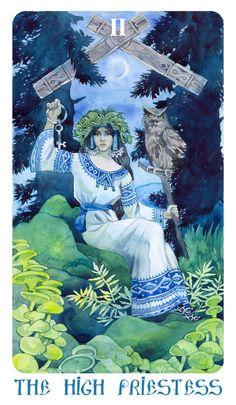 - Arcanum II (2) - The high priestess - by Losenko on DeviantArt