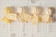 photo by melanie mauer. adorable baby shower favor