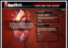 """""""Be the Beat""""... an interactive site from the American Heart Association for kids where they can learn about the heart and CPR."""
