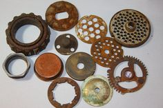 Round and Round Rusted Salvage Lot