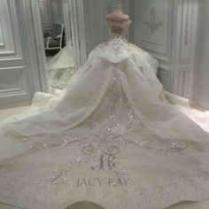 Wedding Gown for church ( back)