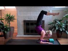 Scorpion Handstand in Ashtanga Yoga , with Kino MacGregor and Ana Guerra - YouTube