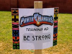 Larcie Bird: Power Ranger Birthday Party