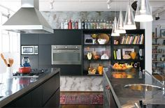 Cozinhas americanas: 13 ideias de ambientes integrados - Casa