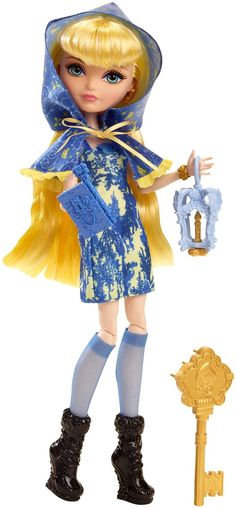 Amazon.com: Ever After High Through The Woods Blondie Lockes Doll: Toys & Games