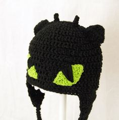 Toothless Earflap Hat How to Train Your Dragon, send size baby ...
