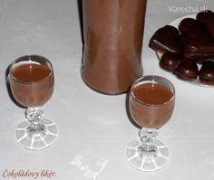 Čokoládový likér z Ľadových gaštanov (fotorecept) Hurricane Glass, Rum, Barware, Beverages, Pudding, Tableware, Desserts, Recipes, Food