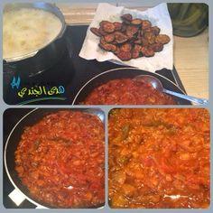 Msaa'3a el Betenjan - Vegetarisches Essen aus Syrien