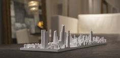 Architectural Cityscape Models by Microscape
