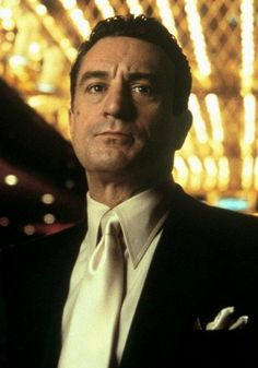 """CASINO  """"WHEN YOU LOVE SOMEONE, YOU'VE GOTTA TRUST THEM. THERE'S NO OTHER WAY. YOU'VE GOT TO GIVE THEM THE KEY TO EVERYTHING THAT'S YOURS. OTHERWISE, WHAT'S THE POINT?""""  Ace Rothstein (Robert De Niro)"""