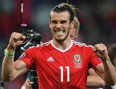 Bale battles Ronaldo for ticket: Gareth Bale leads Wales into battle against Cristiano Ronaldo and Portugal in the Euro 2016 semi-finals on… Gareth Bale, World Football, Football Soccer, Real Madrid, Wales Football, Uefa Euro 2016, European Championships, Adidas, Soccer Players