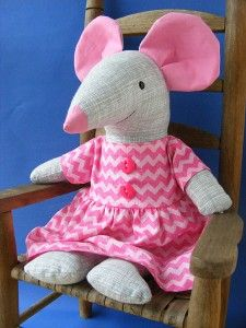 Squeak mouse softie pattern