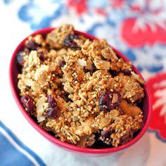 Vanilla Granola with Quinoa and Chia Seeds
