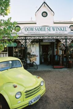 When visiting Stellenbosch, Cape Town a visit to Oom Samie se Winkel is cult . can't leave Stellenbosch without popping in! Safari, Out Of Africa, My Land, Study Abroad, Cape Town, Continents, South Africa, Beautiful Places, Road Trip