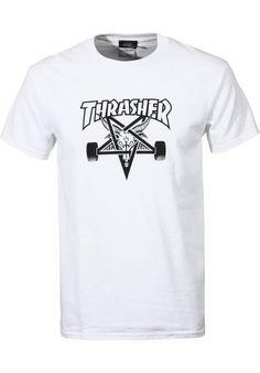 462493ff9d9e Thrasher Skate Goat T-Shirt white