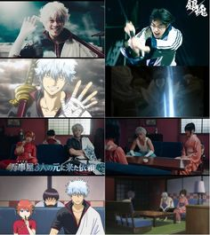 Gintama Live Action Vs Anime