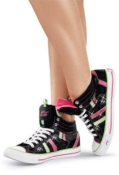 Glitter High Top Dance Sneakers | Gotta Flurt