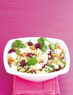 Kuskus s červenou řepou (www.albert.cz/recepty) Cobb Salad, Couscous, Fit, Shape