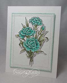 DTGD Cool Mint by DandI93 - Cards and Paper Crafts at Splitcoaststampers