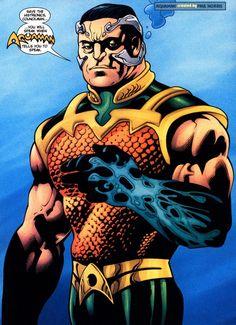Ocean_Master Aquaman, Madame Xanadu, Doctor Light, Adam Strange, Solomon Grundy, King Shark, Ocean Master, Black Manta, Killer Frost