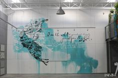 Mel et Kio - Art mural - Miami Ironside-wall art
