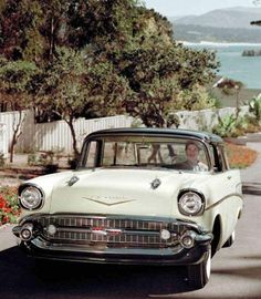 Chevy Nomad, 1957 Chevy Bel Air, Us Cars, Vintage Ads, Detroit, Chevrolet, Classic Cars, Mid Century, American