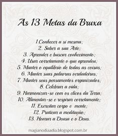 13 metas da bruxa Yin Yang, Religion, Baby Witch, Wicca Witchcraft, Good Energy, Tantra, Book Of Shadows, Coven, Reiki