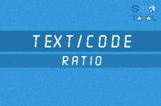 Code to Text Ratio Checker Higher the code percentage increase chance for higher ranking http://seonewtool.com/code-to-text-ratio-checker For all new SEO strategies….. Log on to our site http://seonewtool.com #seo     #seotips   #wordpress   #google   #website   #searchengine   #ecommerce   #keywords   #buisness     #backlinks   #ranking   #linkbuilding