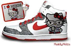 ¸¸.•*¨*•☆ Hello Kitty ☆•*¨*•.¸¸:  Nerd Collection