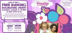 Toys R Us: Free DohVinci Decorating Event   Aug 9, 12 2pm