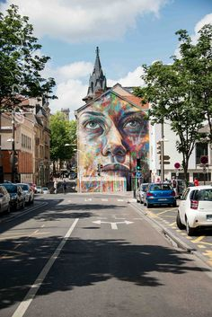 The best gift of my life: thanks for the portraits to one OF THE MOST BEAUTIFUL STREET ARTISTS in the world: Art Of David Walker . Exhibitions all around the world!