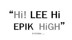 YG-Life updates with a new mysterious teaser image for Epik High