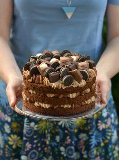 Colors in the Kitchen: Csokitorta Tiramisu, Holiday Recipes, Cake Recipes, Cake Decorating, Ice Cream, Pie, Sweets, Cookies, Baking