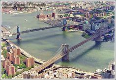 one river two bridges
