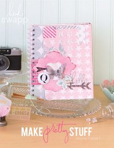 Heidi Swapp e•idea book featuring the new Memory Planner & accessories available in retail stores.