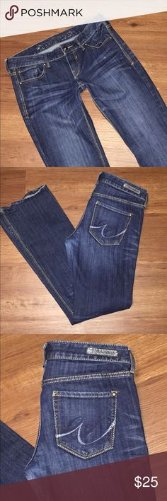 """EXPRESS Boot Jeans dark denim 2S Brand: express-bootcut  Manufacturers tag lists this as a Sz: 2S Please reference to your measurements, for a good fit.  Waist flat across: 16"""" Inseam: 30"""" Rise:6"""" Bx 1 Please use the offer now featured to make your offer I do not negotiate in the comments ty Express Jeans Boot Cut"""