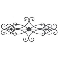 Brown Scroll Metal Wall Decor with Floral Center | Shop Hobby Lobby