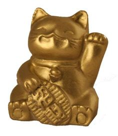 Fabulous Hong Tze CollectionMini Lucky Cat Brass Color * Find out more about the great product at the image link.