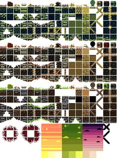 sidescrolling tile set