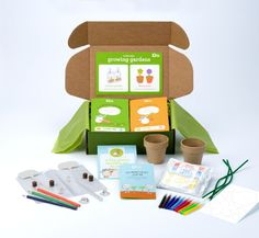 A Great Gift for Kids- Kiwi Gardening Crate Giveaway