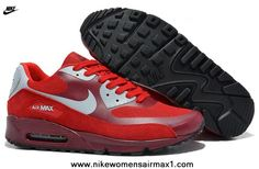 promo code 131cd 4e226 Cheap Nike Air Max 90 Hyperfuse Mens Trainers Premium Burgundy Light-Gray  For Sale Nike